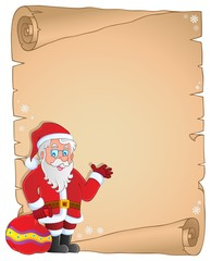 Christmas thematic parchment 9