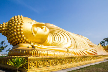 Close up of big buddha statue
