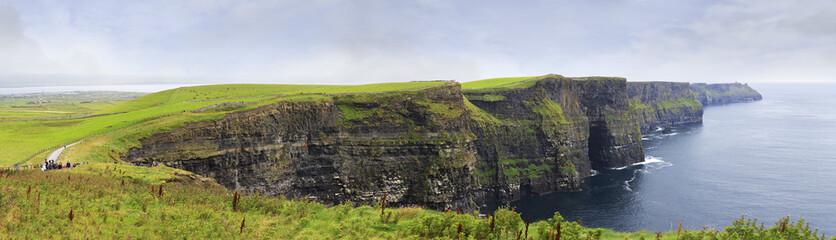 Panorama Cliffs of Moher. © Julia Mashkova