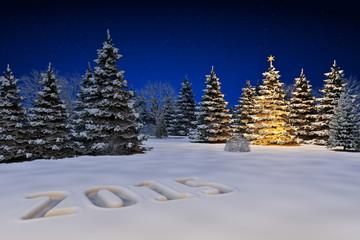 Schneelandschaft 2015