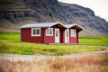 Typical Holiday House at North Iceland
