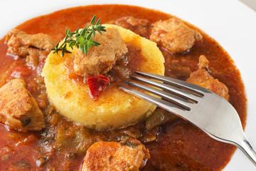 Goulash-stew