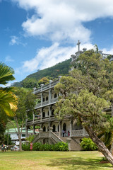 La Domus Catholic Church in Seychelles