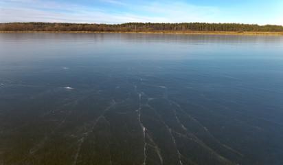 outdoor view of frozen