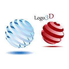 Logo 3d 2шара