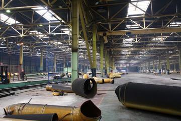 repair of an abandoned factory