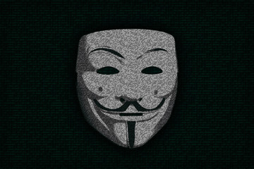 Anonymous mask as digits nulls and ones