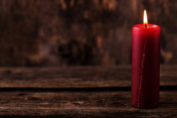 Beautiful candle