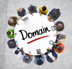People Social Networking and Domain Concepts