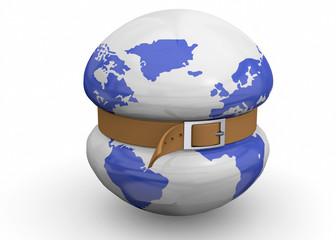 Global economic crisis - 3d