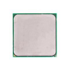 Central processor. Back view.