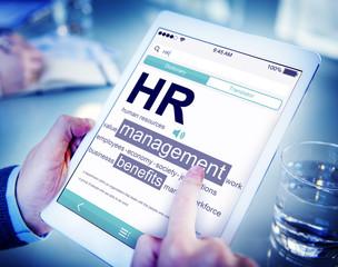 Digital Human Resources Management Concepts