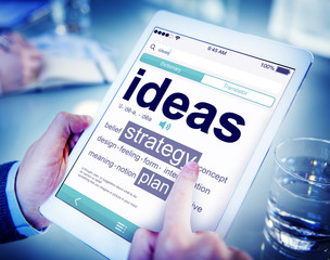 Digital Dictionary Ideas Strategy Plan Concepts