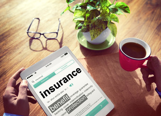 Digital Insurance Benefits Protection Concepts
