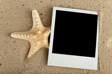 starfish and picture