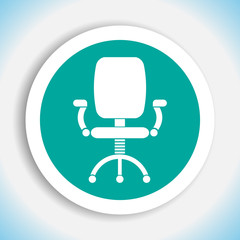 office chair vector icon