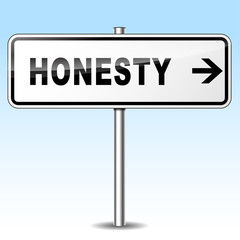 honesty sign