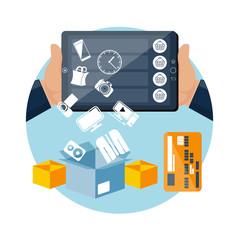 Online ecommerce technology internet shopping
