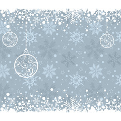 Christmas decoration frame. Abstract Illustration