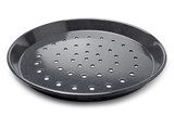Pizza tin with air vents