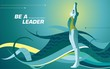 be a leader_swimming2