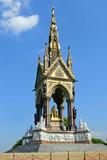 Albert Memorial in London. poster