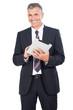 canvas print picture - Business Mann