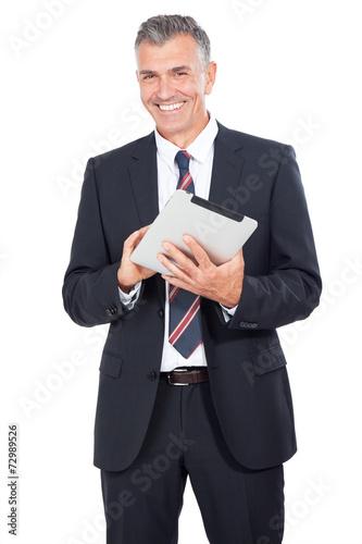 canvas print picture Business Mann