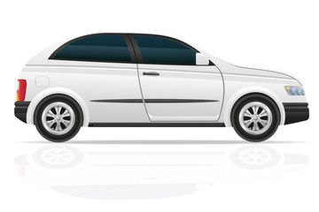 car hatchback vector illustration