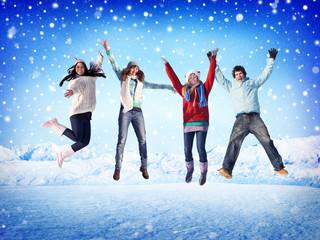 Christmas Celebration Friendship Winter Concepts