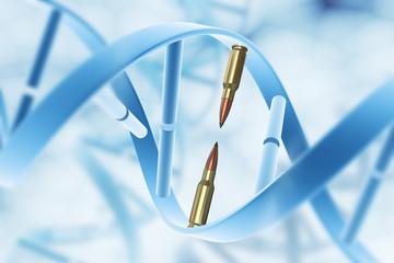 Aggression and destruction gene