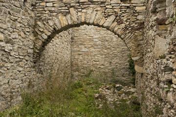 medvedgrad walls, arc