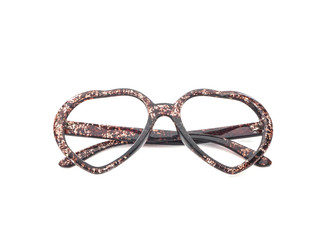 Eye glasses with heart shape
