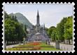 Timbre Grotte de Lourdes