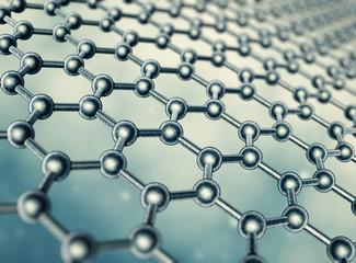 Graphene molecular structure