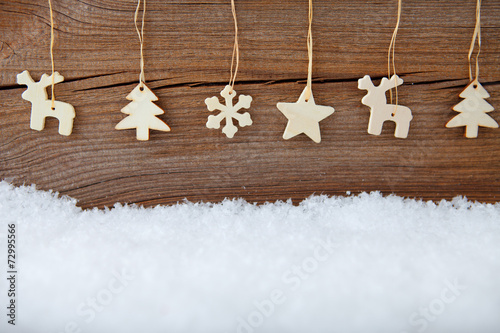 canvas print picture christmas banner