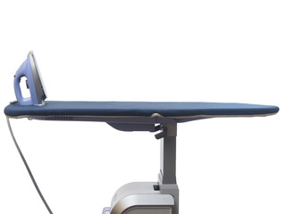 Professsional ironing system isolated