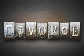 Divorce Letterpress