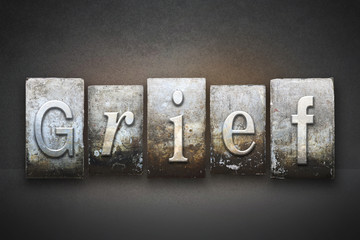 Grief Letterpress