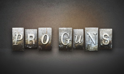Pro Guns Letterpress