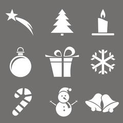 Iconos Navidad serie 1