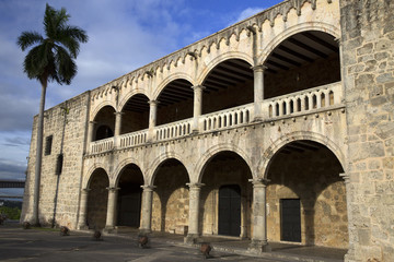 Diego Colon palace in Santo Domingo Dominican Republic