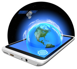 Tablet PC and GPS navigation