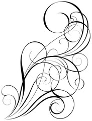 Swirl art design