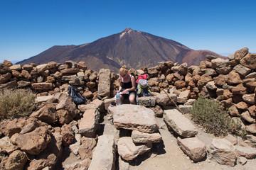 Teide Nationalpark - Guajara Gipfel