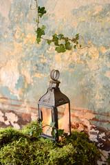 lanterne mousse