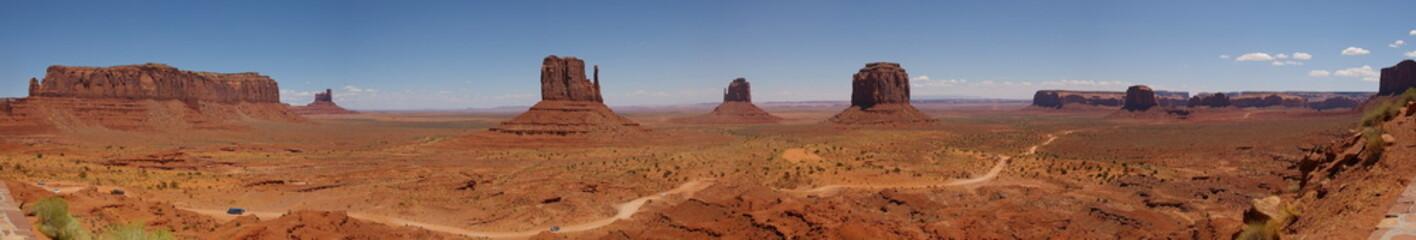 Monument Valley Panorama (Utah,Arizona; USA)