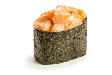 Spicy Hotategai Gunkan maki sushi