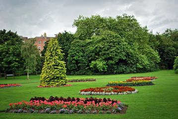 Dublin, St Stephen's Green public park