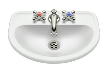 White washing sink